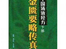 《中国汤液经方(下部)金匮要略传真》