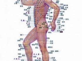 周身经络穴位意念按摩养生法