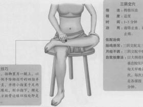 三阴交的准确位置图,三阴交穴的功效与作用