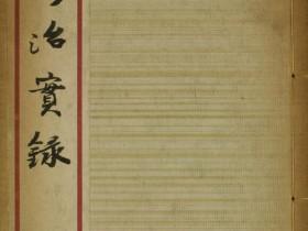 《修治实录》PDF电子书下载