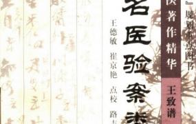 《民国名医著作精华:全国名医验案类编》PDF电子书下载
