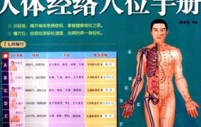 《一次完全读懂人体经络穴位手册(全图解)》PDF电子书