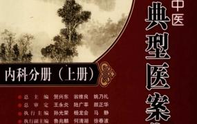《当代名老中医典型医案集:内科分册》PDF电子书下载