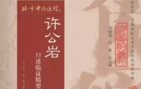《许公岩口述临证精要》PDF电子书下载