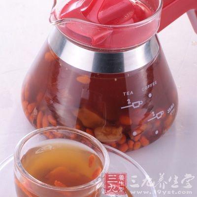 枸杞红枣桂圆都是补血补气的佳品