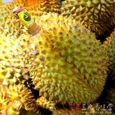 榴莲果中氨基酸的种类齐全,含量丰富