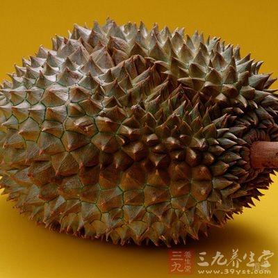 榴莲中含有非常丰富的膳食纤维,可以促进肠蠕动,治疗便秘