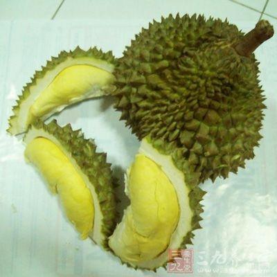榴莲含有丰富的蛋白质和脂类