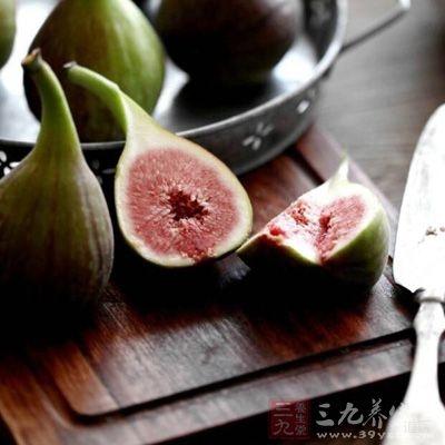 无花果中含有的活性物质具有防癌作用