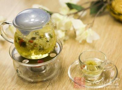 菊花茶饮搭配方法