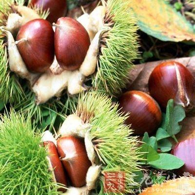 生栗子维生素的含量可高达40~60毫克
