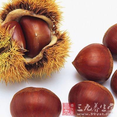 栗子是碳水化合物含量较高的干果品种