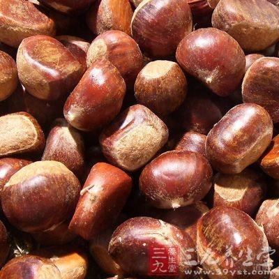 益气补脾,健胃厚肠栗子是碳水化合物含量较高的干果品种