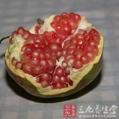 石榴皮可以治疗细菌性痢疾