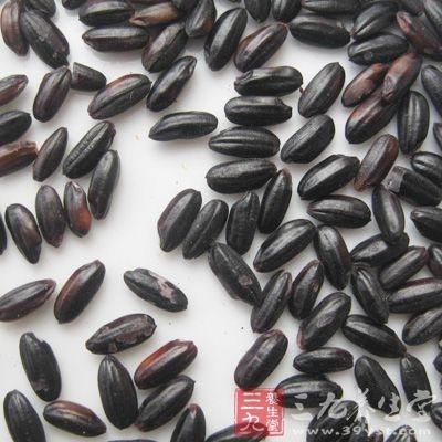 黑米所含铜都比大米高1~3倍