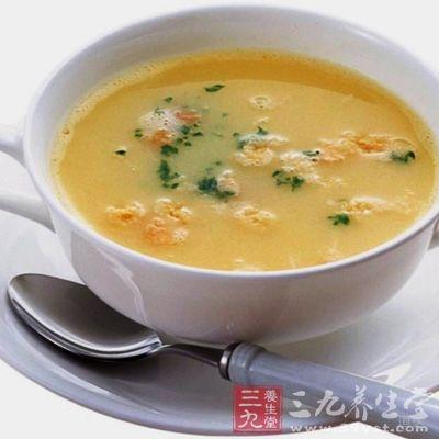 扁豆淮山粥:扁豆、淮山、粳米各100克,同煮粥食用