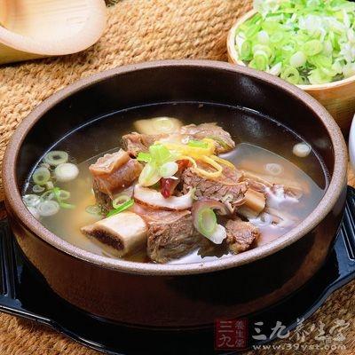 祛湿知母生地猪肉汤