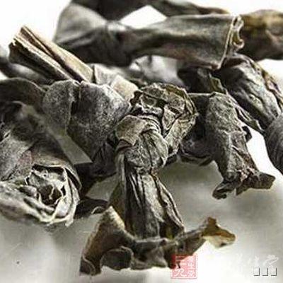 """昆布亦称""""黑菜""""、""""鹅掌菜""""、""""五掌菜""""等"""