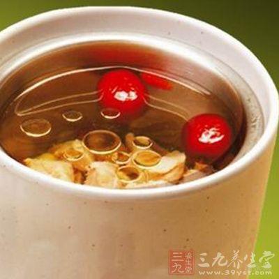 百合芝麻煲猪心