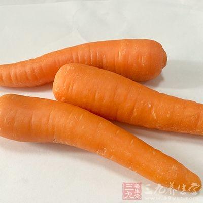 胡萝卜对身体好