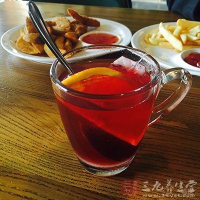 喝姜红茶能吃进更多的纤维质