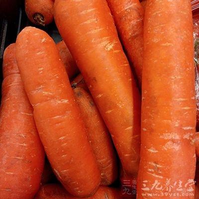 胡萝卜做姜丝萝卜汤