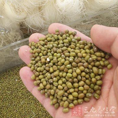 绿豆清热解毒消炎