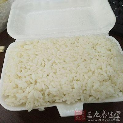 米饭最好是不要吃