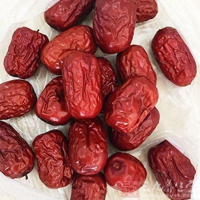 红枣也有养护胃口的好效果