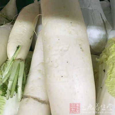 白萝卜用来治头痛