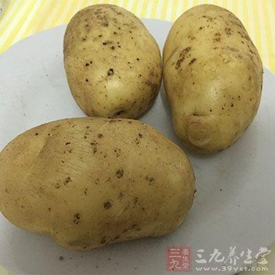 马铃薯中含有比较多的淀粉
