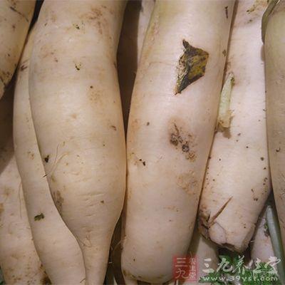 白萝卜用来治脚气