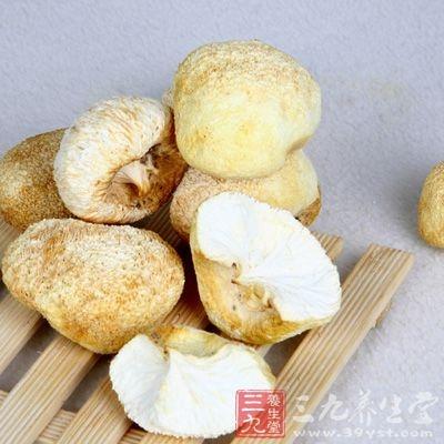 猴头菌的营养成分很高,干品中每百克含蛋白质 26.3 克