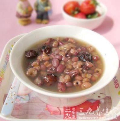 薏米红豆粥的做法介绍