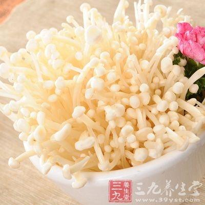 金针菇可阻抑动物因喂饲料而引起的血脂升高