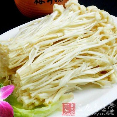 金针菇中含有维生素B2
