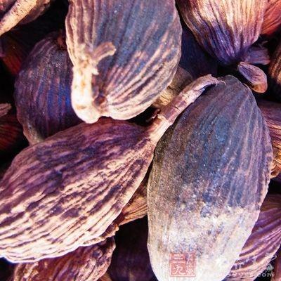 草果能达到人预期的祛除腥气的效果,增进人们的食欲感,作为烹调佐料中的佳品