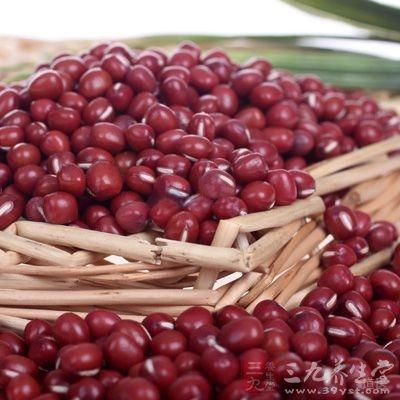 材料:赤小豆一升