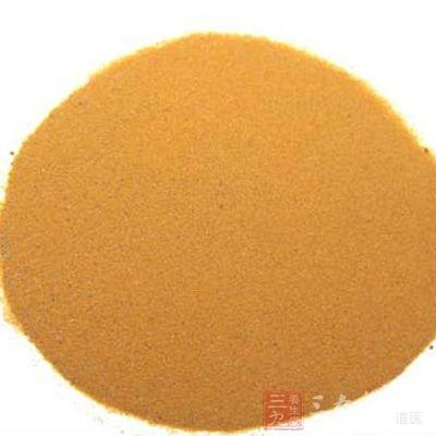 材料:需适量的海金沙