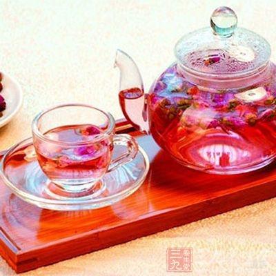 玫瑰花茶效用