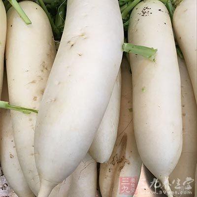 白萝卜用来治支气管炎