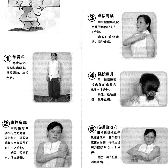 肩周炎的按摩治疗方法