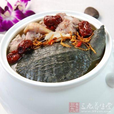 淮山药炖甲鱼