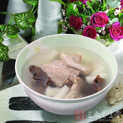 淮山药排骨汤