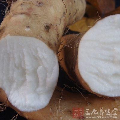 淮山药肉质细嫩,含有极丰富的营养保健物质