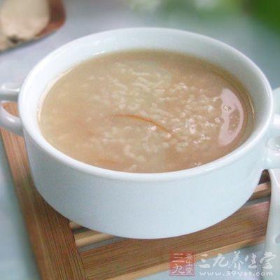 黄芪苏麻粥