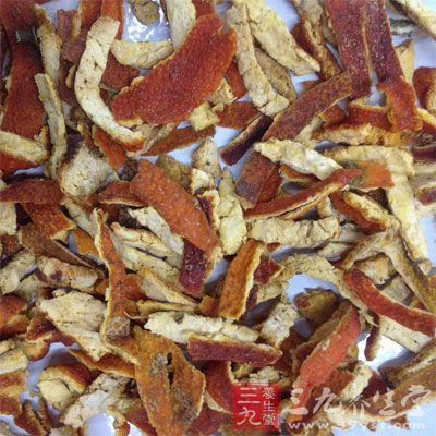 陈皮是成熟的桔皮经晒干或晾干制成