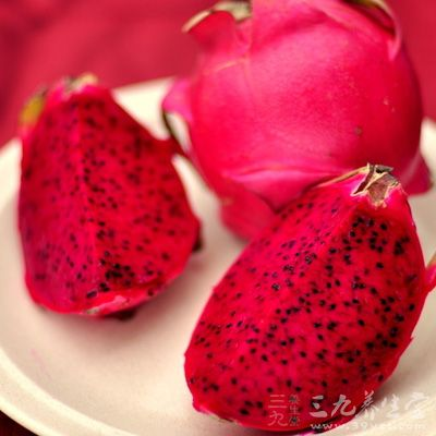 火龙果果实和茎的汁对肿瘤的生长、病毒感染及免疫反应抑制等病症表现出了积极作用