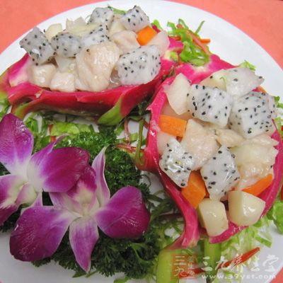 火龙果不仅味道香甜,还具有很高的营养价值