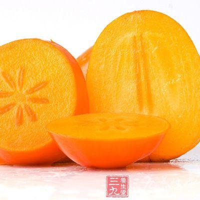 柿子能治高血压、慢性支气管炎干咳、咽痛